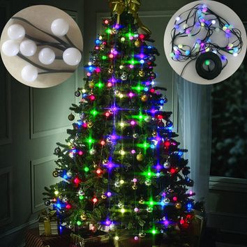 christmas led lights christmas decorations New Year 48 Lights Decor christmas decorations for home light