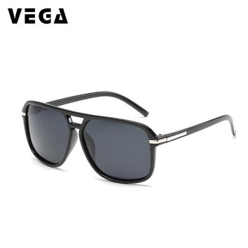 VEGA Eyewear 2018 Square Polarized Sports Glasses Men Women Sports Sunglasses Fishing Biker Running Glasses Sport Shades 209