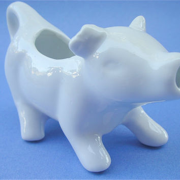 Cow Creamer Ceramic Coffee Tea Porcelain Moo by VillaCollezione