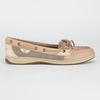 Sperry Top-Sider Angelfish Womens Boat Shoes Linen/Oat  In Sizes