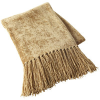 Chenille Throw - Gold$39.95