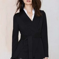 Cameo Wrap It Up Crepe Jacket