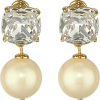 Kate Spade New York Pearlescent Baubles Drop Clip Earrings
