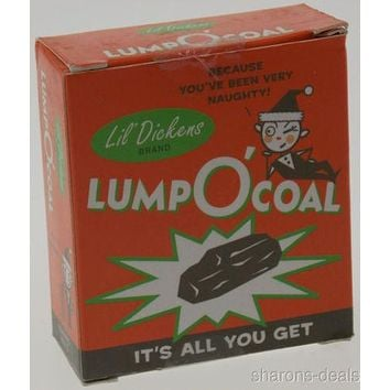 Lump O'Coal Lil Dickens Mini Kit Lot of 2 Gag Gift Naughty Running Press NEW