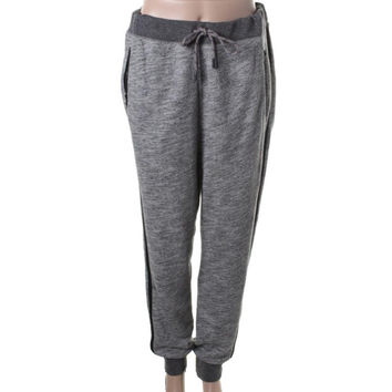 Rag & Bone Womens Contrast Trim Drawstring Sweat Pants