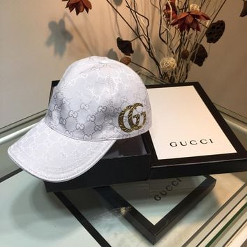 Gucci Newest Popular Women Men Sports Uv Protection Sun Hat Visor Hat Cap