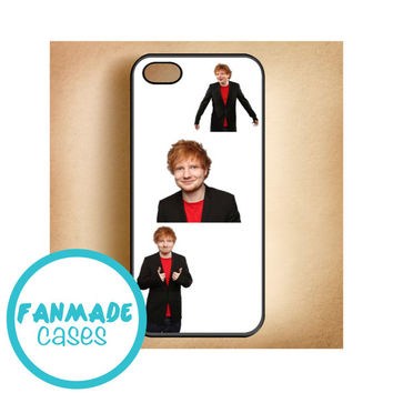 Ed Sheeran suit iPhone 4/4s 5/5s/5c & iPod 4/5 Rubber Case