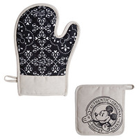 Disney Gourmet Mickey Mouse Potholder and Oven Mitt Set | Disney Store