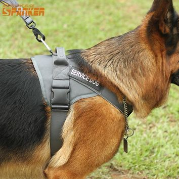 EXCELLENT ELITE SPANKER Tactical Dog Vest Training Pet Vest Harness Dog Clothes Hunting Dog Harness For Large and Small Dog
