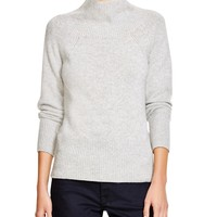 Burberry LondonMock Neck Cashmere Sweater