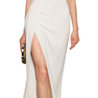Elie Saab - Silk Evening Gown with Cut-Outs