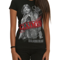 The Walking Dead Claimed Girls T-Shirt