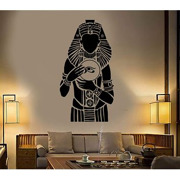Vinyl Wall Decal Pharaoh Ancient Egypt Egyptian Stickers Mural Unique Gift (458ig)