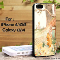 Classic winnie the pooh for iPhone 4, iPhone 4s, iPhone 5, Samsung Galaxy S3,S4 Case