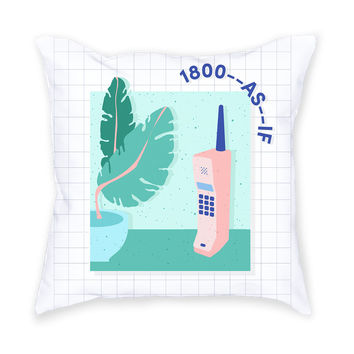 So into this design on Fab! 1-800-As-If Throw Pillow #FabForAll