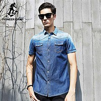 fashion short sleeve shirt men clothing summer shirts male top quality casual shirts for men