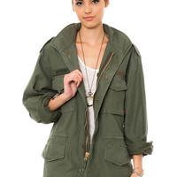 Women's Vintage M-65 Field Jacket