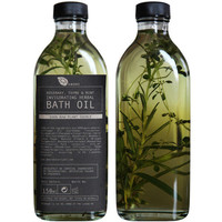 Rsemary, Thyme & Mint Invigorating Herbal Bath Oil (£18.00)