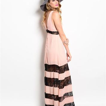 To The Races Maxi Dress