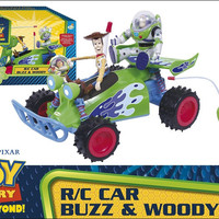 car toy story buzz and woodi
