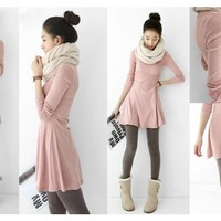 Long sleeve comfortable dress