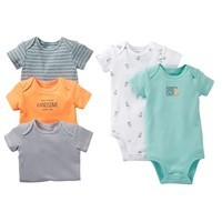 Carter's 5-pk. Fox Bodysuits