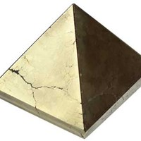 30- 35mm Pyrite pyramid [GPYPYR30] - $12.95 : Magickal Products, Crystals, Tarot Decks, Incense, and More!