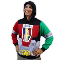 Voltron Costume Pullover Hoodie