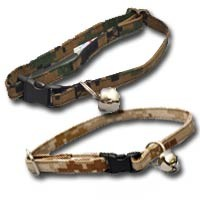 "US Marine Corps MARPAT Camouflage Fabric Large Cat Collar (9-14"")"