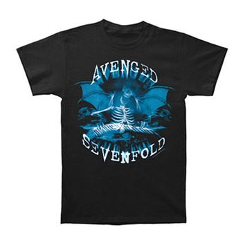 Avenged Sevenfold Men's  Organ Donor T-shirt Black Rockabilia