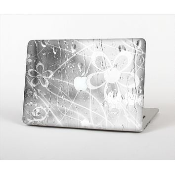 The Watered Floral Glass Skin Set for the Apple MacBook Air 11""