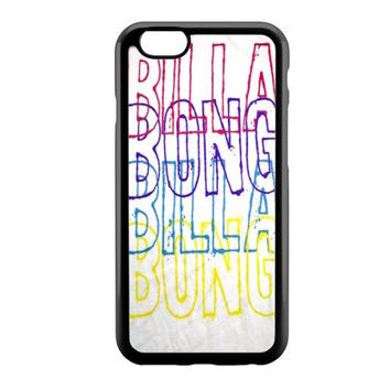 billabong font colour iPhone 6 Case