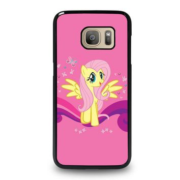 my little pony fluttershy samsung galaxy s7 case cover  number 1