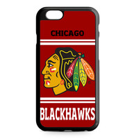 Chicago Blackhawks NHL Ice Hockey iPhone 6 case