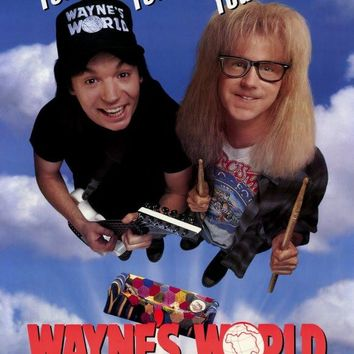 Wayne's World 27x40 Movie Poster (1992)