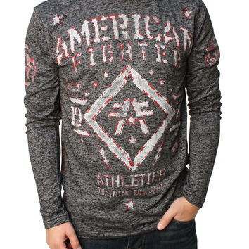 American Fighter Men's Butler LS MT Graphic T-Shirt