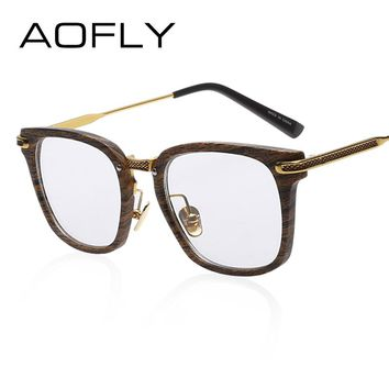 Fashion Newest Style Frame Plain Eyeglass Frame Optics Clear Reading Glasses Trendy Goggles for Men Women