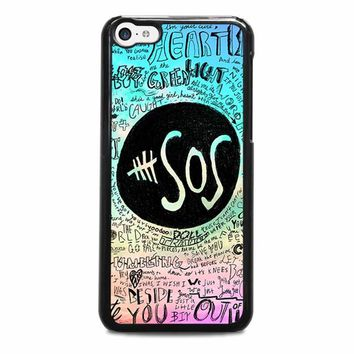 5 SECONDS OF SUMMER 3 5SOS iPhone 5C Case Cover