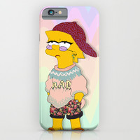 chic lisa simpson iPhone & iPod Case by Sara Eshak