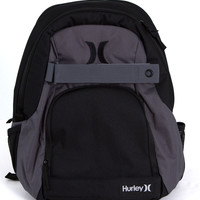 Hurley Honor Roll Solid Blocked Backpack in Black H.ZQ.006.036.NS