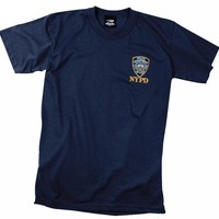 Rothco Officially Licensed NYPD Emblem T-shirt