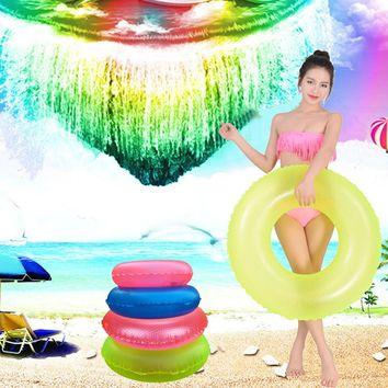 Hot Cute Kids Child 2017 New Infant Children Swimming Float Ring Bath Inflatable Circle Toy Gift Lake Beach Summer Beach Sea Raf
