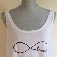 Infinity Love Crop Top