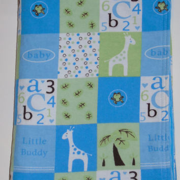 Personalized Baby Blanket, Toddler Minky Blanket,Baby Boy Blanket, Crib Blanket, Stroller Blanket, Baby Shower Gift, Minky Blanket