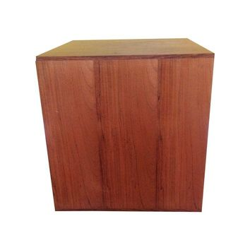 Pre-owned Milo Baughman Mid-Century Modern Rosewood Cube