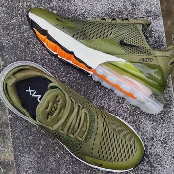NIKE Air Max 270 Men Fashion Contrast Sneakers Shoes