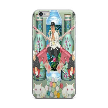 King Of The Hill Bobby & Hank Trill Arizona Pills Fiji Water Vaporwave iPhone 4 4s 5 5s 5C 6 6s 6 Plus 6s Plus 7 & 7 Plus Case