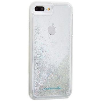 Case-Mate 846127176750 Waterfall Case for iPhone 8 Plus/7 Plus/6s Plus/6 Plus - Clear, Iridescent