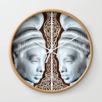 #Queen Wall Clock by violajohnsonriley