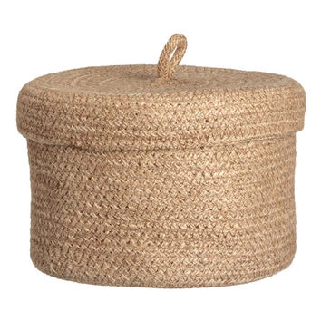 H&M Braided Jute Basket $12.99